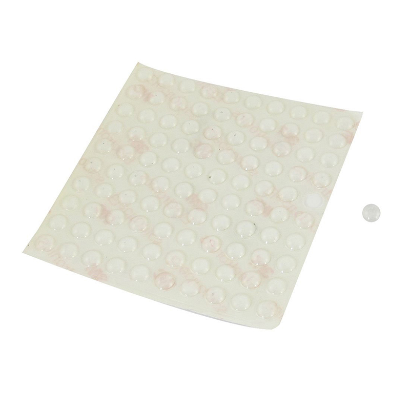 Big Deal Furniture Clear Rubber Pad Protectors Self Adhesive Anti Scratch 8x2.5mm