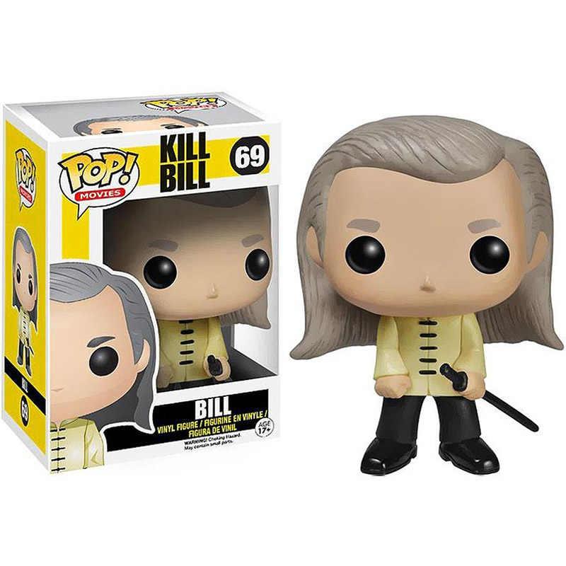 Funko Pop filmy Kill Bill figurka winylowa #69 BillFigures zabawki do kolekcjonowania na prezent urodzinowy dla dzieci
