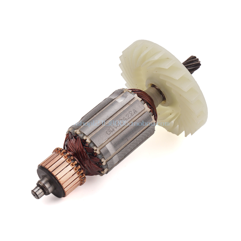 AC220-240V Electric Circular Saw Armature Motor 10teeth Rotor Stator For Hitachi C7 Rotor 185 M1Y-MH2-180 Rotor Power Tool Parts