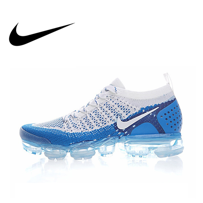 NIKE AIR VAPORMAX FLYKNIT 2.0 Original Authentic Men's Running Shoes Sneakers Breathable Sport Outdoor Athletic 2019 New 942842
