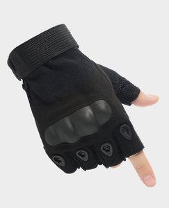 Image 4 - Guanti tattici Sport Allaria Aperta Moto Sbarazzamento Mezzi della Barretta di Combattimento Militare Anti Slip In Fibra di Carbonio Borsette Guanti Tattici