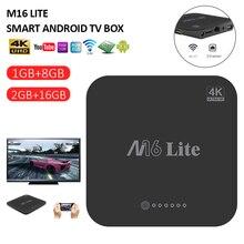 M16 Lite Mi TV Box S Android TV Box 7.1 4K HDR Quad-core 2GB DDR3 Smart IP TV Box control TV Box Media Player
