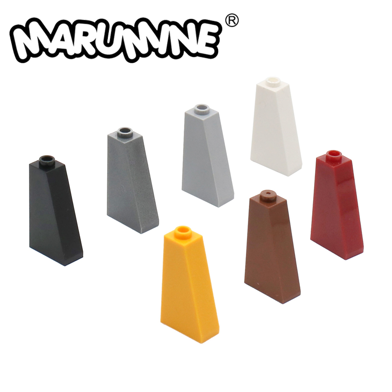MARUMINE 75 1x2X3 Slope Tile Bricks 4460 Building Blocks 100PCS/Lot Assembles Particles Educational Creative gift Toys