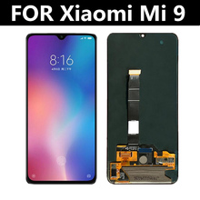 6.39 AMOLED LCD FOR Xiaomi Mi 9 Mi9 Display+Touch Screen Digitizer Assembly Replacement Accessories