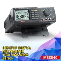 PINTUDY Desktop Electrical Instruments Digital Multimeter True RMS DMM Bench Top Multimeters 22000 Coin Measurement Instruments|Multimeters| |  -