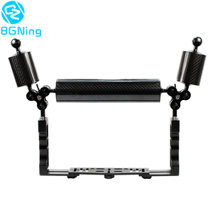 Image 1 - Aluminum Diving Underwater Tray Kit Light Extension Arm Bracket System with Handle Grip Stabilizer Rig Sports SLR Camera Housing