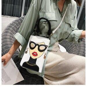 Image 4 - סגנון חדש סקסי אישה אופנה קטן Crossbody תיק לנשים 2020 כתף שרשרת תיק Pureses ותיקי עור מפוצל מצמד תיק