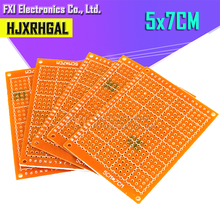 2 uds. 5*7cm pcb prototipo papel cobre PCB 5*7 placa de circuito de matriz de prueba Universal 5x7cm marca igmopnrq