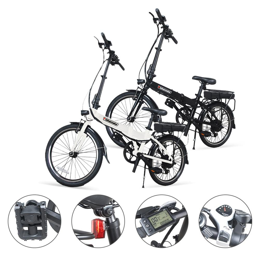 Electric bicycle bike 250W Electric Beach Bike 12V Mountain Bikes Snow ebike Bicycle With Lithium Battery folding