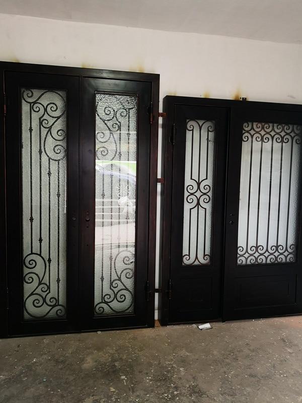Shanghai Hench Brand China Factory 100% Custom Made Sale Australia Wrought Iron Doors Near Me