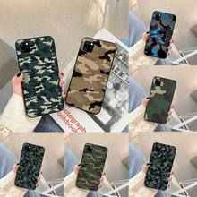 Camouflage Pattern Camo military Phone Case For iphone 5s 6 7 8 11 12 plus xsmax xr pro mini se Cover Fundas Coque
