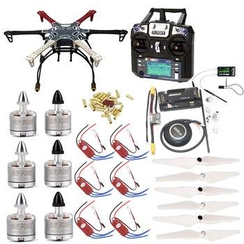 F550 Quadcopter Frame Kit with APM2.8 Controller board/7M GPS/2212 920KV cw/ccw/30A SimonK ESC/Flysky FS-i6 TX For Rc Quadcopter 2212 920kv brushless motor cw for phantom f330 f450 f550 x525