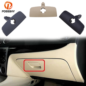 POSSBAY Car Glove Box Handle Cover Lid Lock Hole for VW Passat B5 Car-Styling Covers Black/Gray/Beige Glove Boxes Lock
