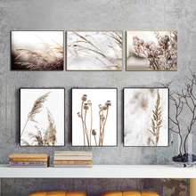 Cuadros Rice Dandelion Home Green Plant Art Canvas Painting Nordic Posters And Prints Printable Wall Pictures For Living Room