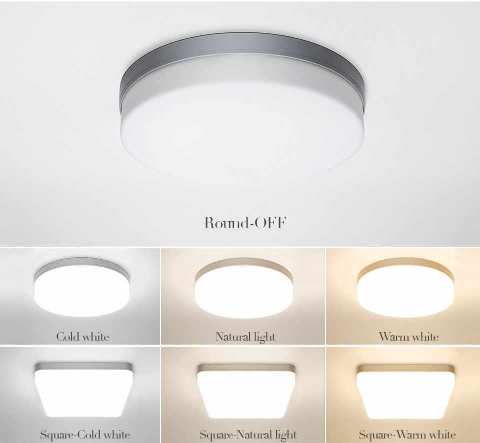 Led Plafond Verlichting Voor Kamer 18W 24W 36W 48W Koud Warm Wit Natuurlijke Licht Led Armaturen plafond Lampen Voor Woonkamer Verlichting