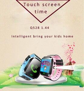 Image 3 - Los niños Smartwatch niños niñas reloj inteligente para niños con GPS a prueba de agua/LBS rastreador juegos SOS llamada de alarma linterna voz C