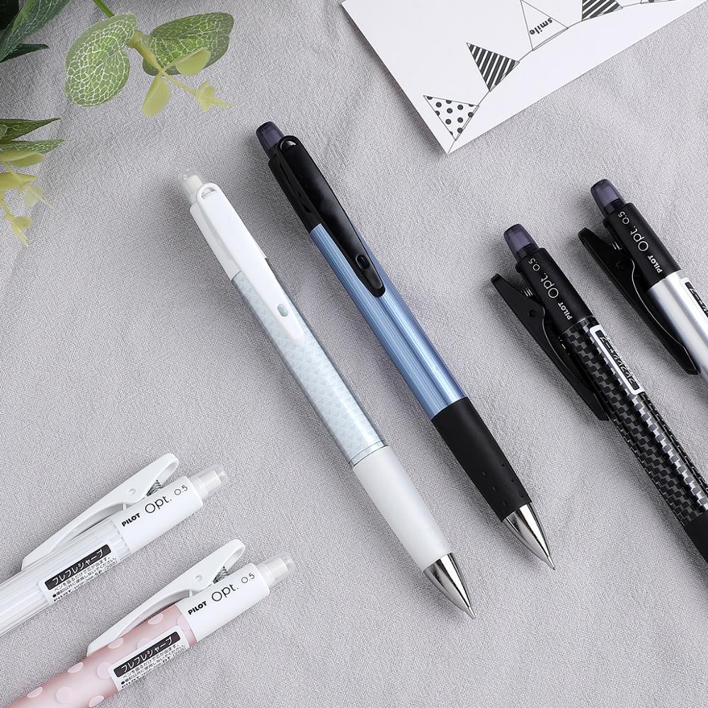 1PC Creative Shake Pilot Opt Shaker Mechanical Pencil 0.5 Mm Comfort Grip School Supplies Student Kawaii Stationery HOP-20R