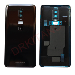 Image 3 - Original NEW Back Glass Cover Oneplus 6 6T Battery Cover Door One PLUS 6 Housing Rear Panel Case Oneplus 6T Back Battery Cover