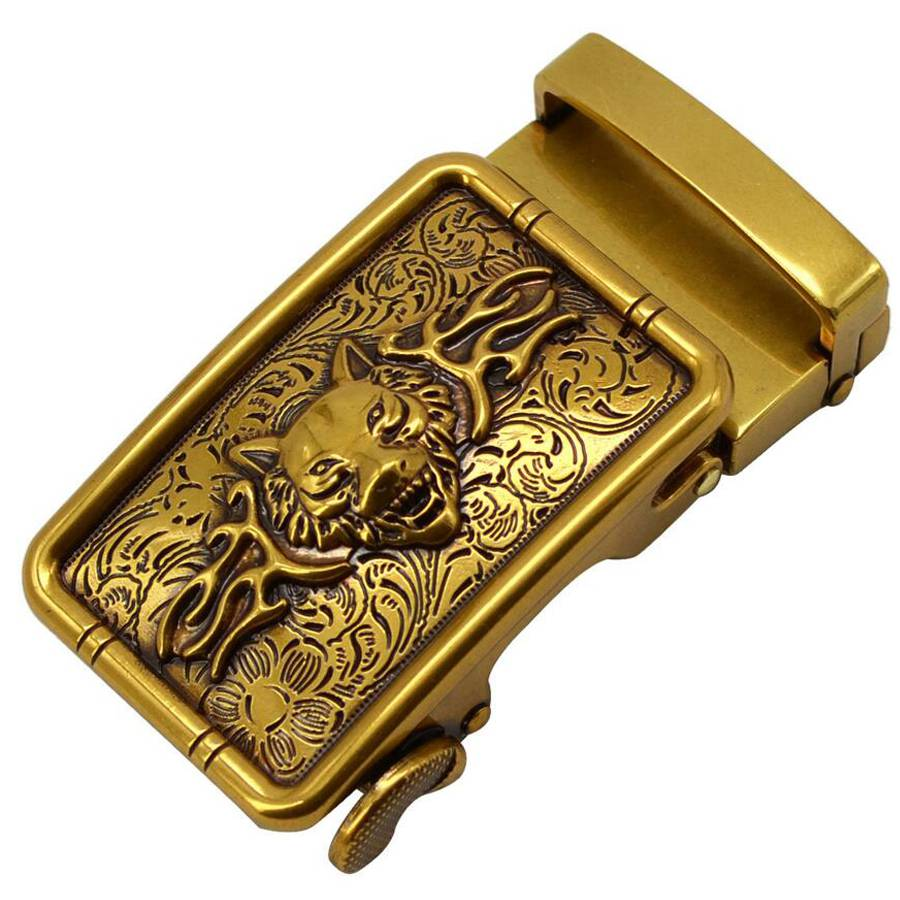 Men's Belt Buckle Automatic Fashion Men Automatic Buckle Genuine Men's Belt Head, Belt Buckle, Leisure Belt Head