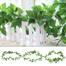 Artificial Ivy Plastic Wedding Garden Room Fashion Vine Garlands 2.5m Beautiful Leaves Drop Shipping