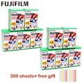 Пленка Fuji Fujifilm Instax Mini 9, 10-100 листов, пленка с белым краем, ширина 3 дюйма, пленка для мгновенных камер Mini 8, 9, 7s, 25, 50s, 90, фотобумага