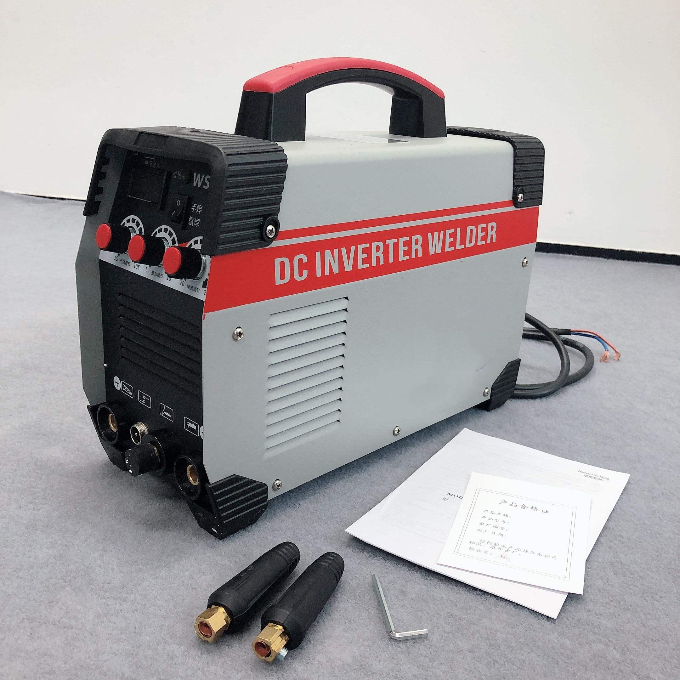 WS-250 аргоновая сварочная машина 220В электрическая сварка/аргоновая дуговая сварка двойного назначения сварочный аппарат