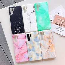 Matte Marble Phone Case For Huawei