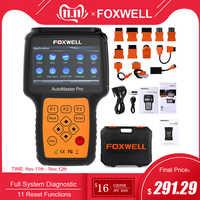 Scanner ABS SRS de FOXWELL NT644 PRO système complet OBD2 à l'outil de Diagnostic de réinitialisation d'huile DPF EPB Scanner automobile professionnel ODB2 OBD