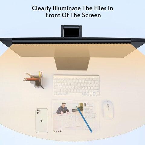 lampada moderna monitor luz leitura usb