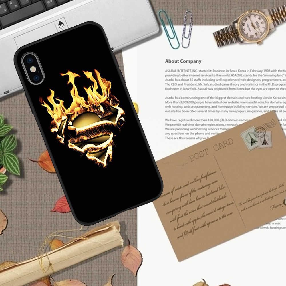 Marvel hero iPhone X XR XS 11 Pro Max 5 5S SE 6 6S 7 8 artı oneplus 5T Pro 6T telefon kılıfı kapak Coque yumuşak silikon tpu etui