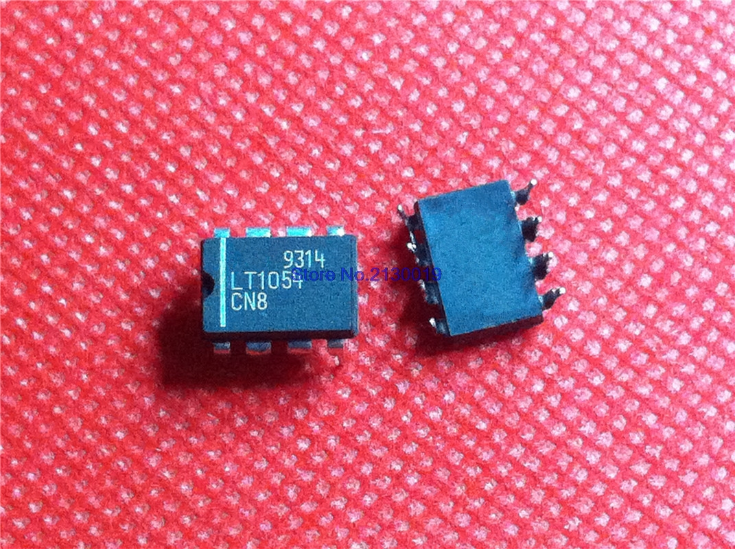1PCS LT1054CN8 LT1054 Switched-Capacitor Voltage Converter with Regulator