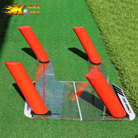 Golf Swing Trainer Swing Straight Draw Fade Practice Mirror Golf Aiming Hitting Trainer