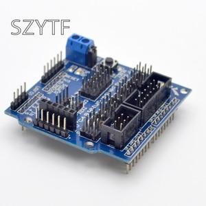 Image 3 - Sensor Shield V5.0 sensor de expansión tabla Uno MEGA R3 V5 para Arduino electrónica bloques de construcción de piezas de robot