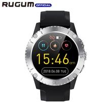 Waterdichte 3ATM Zwemmen Sport Horloge Bluetooth Fitness Tracker Luchtdruk Hartslag Muziek Slimme Horloge Mannen Rugum Z1