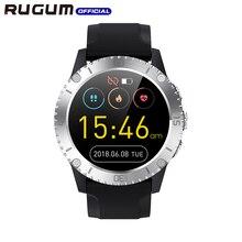 Waterproof 3ATM Swimming sport watch Bluetooth Fitness Tracker Air Pressure Heart Rate Music Smart Watch Men RUGUM Z1
