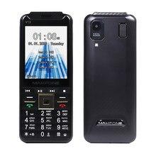 Gsm 4 sim cartões telefones celulares fm rádio mp3 mp4 grande tocha do telefone móvel china barato telefones teclado russo