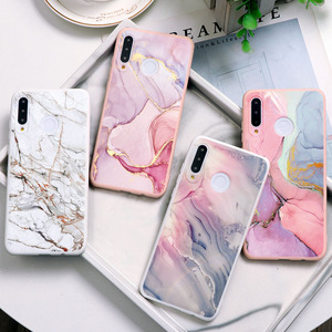 Marble Silicone Case For Huawei Honor 8A 8X 9X 9A 9S 9C 9 Mate 20 10 Play 4T 9A X10 10i 20i 20 30 30S Lite Pro Soft Shell Coque