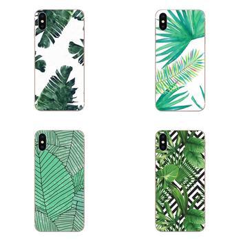 Planta verde hojas de verano para LG G3 G4 G5 G6 G7 K4 K7 K8 K10 K40 K50 Q6 Q60 V10 V20 V30 V40 Nexus 5 5X 2017 suave Venta caliente