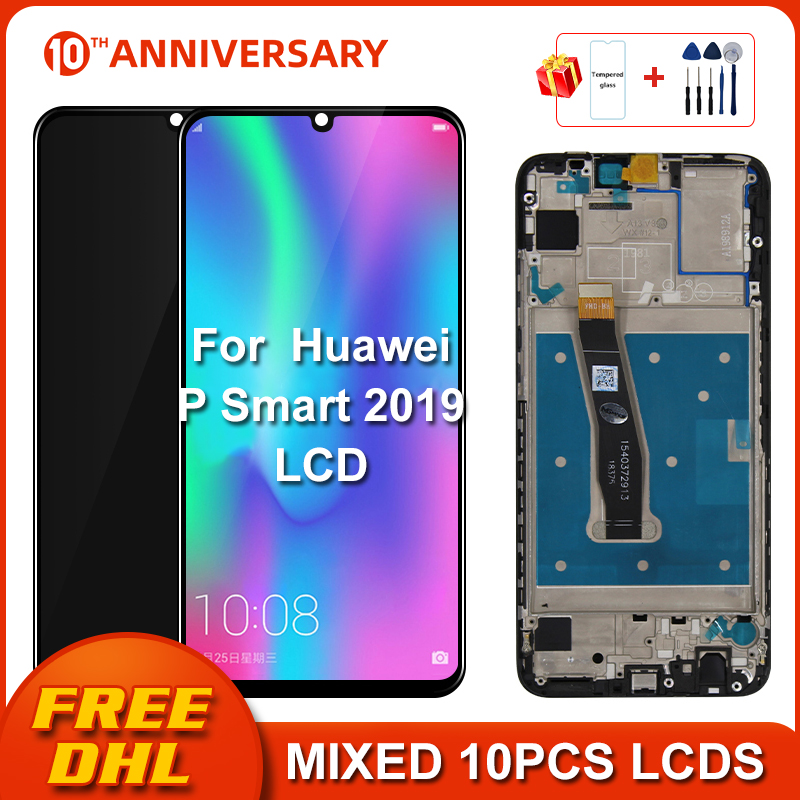 Original LCD For Huawei P Smart 2019 LCD Display Screen Touch Digitizer Assembly Repair Parts For P Smart 2019 LCD 10 Touch