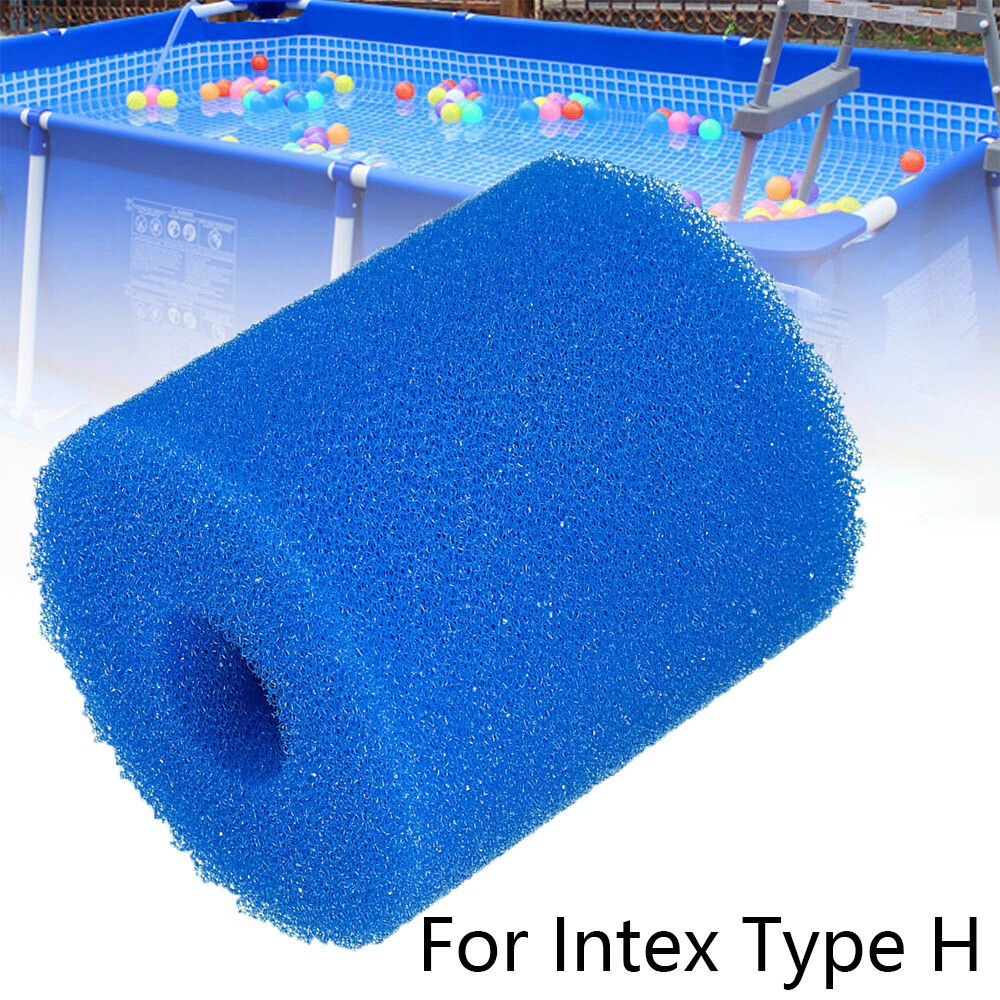 1*Filter Sponge Replacements For Intex Type H Washable Reusable Swimming Pool Filter Foam Sponge Cartridge
