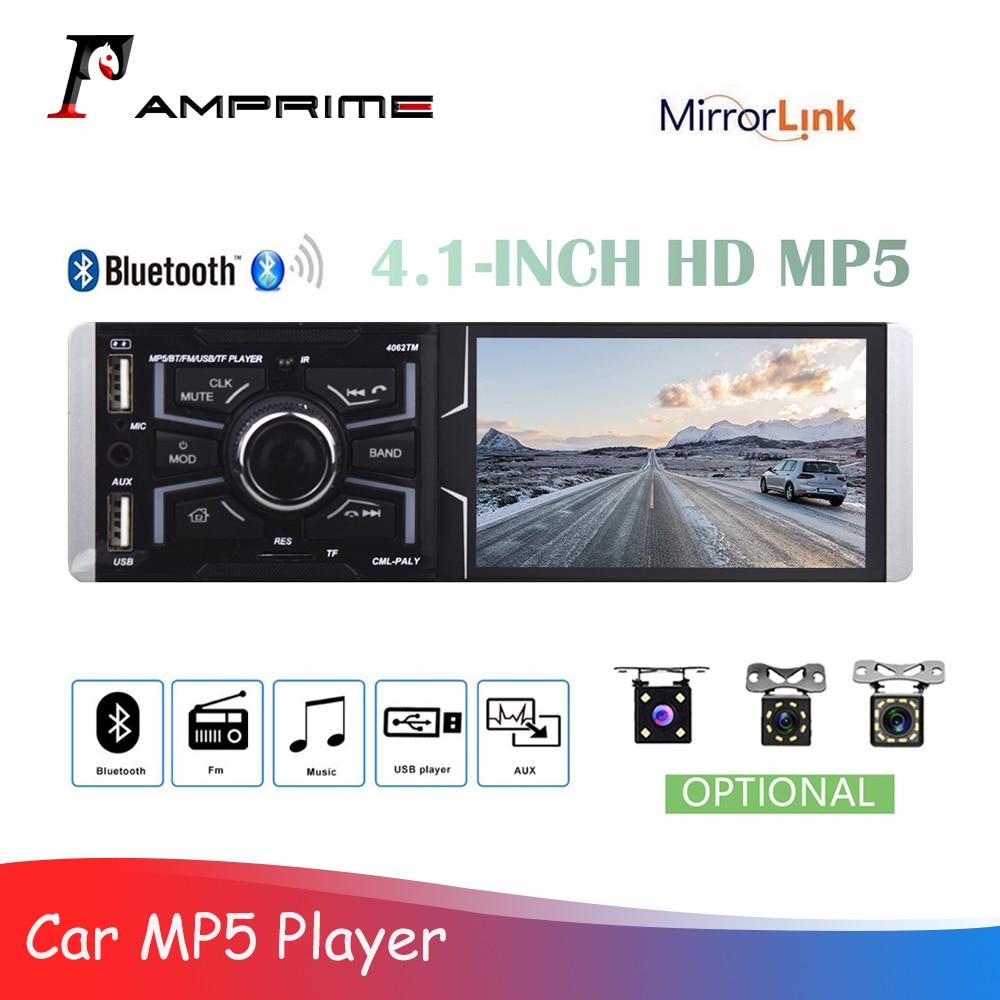 AMPrime 1 Din Car Autioradio Radio 4.1