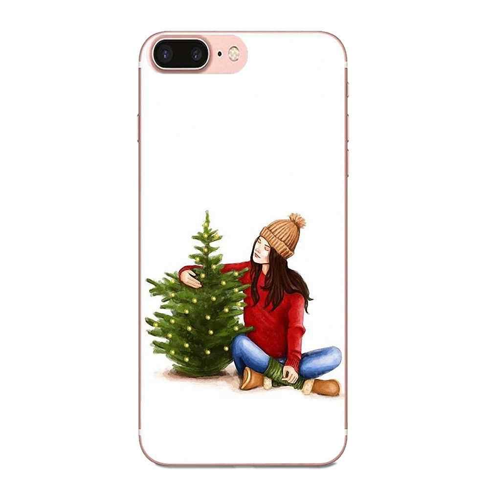 Мода Рождество девушка в продаже роскошный для Xiaomi Redmi Mi 4 7A 9T K20 CC9 CC9e Note 7 9 Y3 SE Pro Prime Go Play мягкий пользовательский дизайн