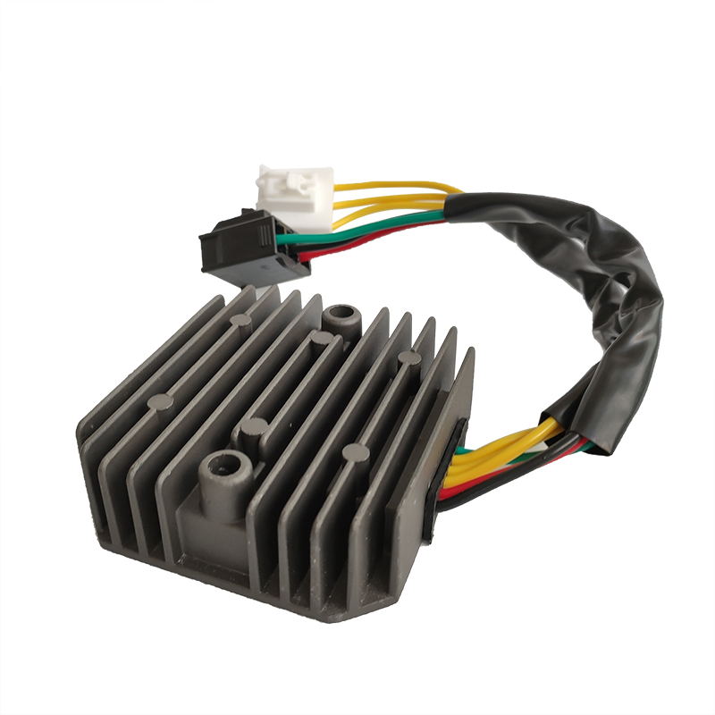 New Motorcycle Rectifier Voltage Regulator Rectifier For <font><b>Honda</b></font> <font><b>SH125</b></font> SH125i SH150 SH150i 2005-2013 31600-KTF-641 Metal DC 12V image