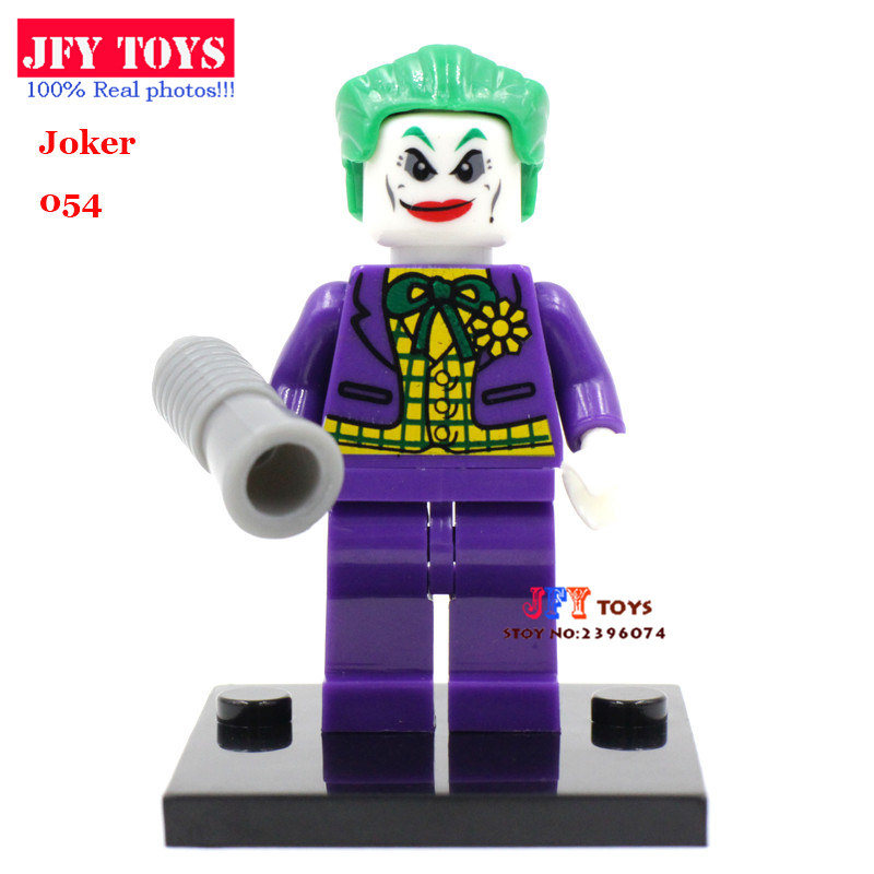 Single Sale Suicide Squad Joker Comics Batman Robin Harley Quinn Building Blocks Model Toys For Children