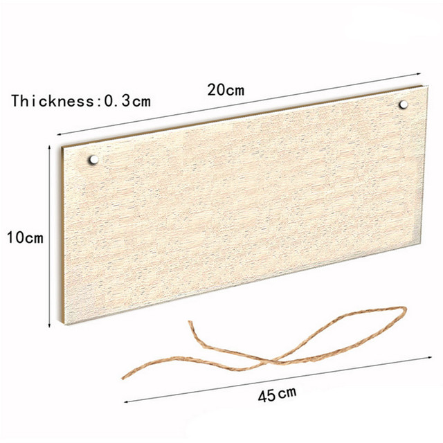 Do Not Knock Practical Letter Print Hanging Door Plate Home Decoration Doorplate Statues Wall Decorative Board Plates