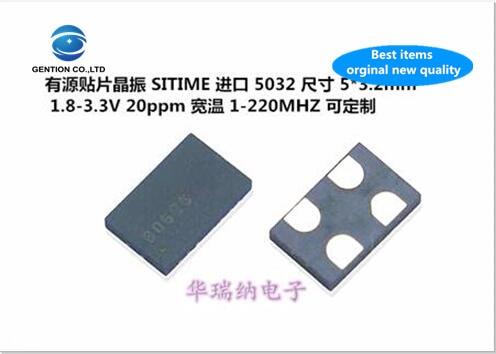 5pcs 100% New And Orginal SIT8008BI-31-33E-40.000MHZ 40MHZ 40M Active SMD Crystal 5032 SITIME