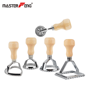Italian Ravioli Cutter Set Pasta Press Kitchen Attachment Kit Ravioli Maker Mold Tool Ravioli Stamp Set Pastry Wheel Set