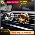 Bulldog Auto Lufterfrischer Auto Parfüm Duft Duft Geruch in die Auto Styling Auto Zubehör Ornament für XM3 tesla Diffusor