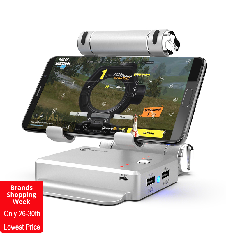 GameSir X1 BattleDock Converter Stand Docking for FPS games, Using with keyboard and mouse, Portable Phone Holder vacuum cleaner for sofa