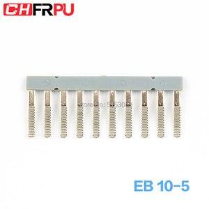EB 10-5 Suitable for UK3 MBKK2.5 UKK3 Side Plug Connector Din Rail Terminal block short circuit connection strip